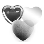 Placky srdce_spínací špendlík (53x57mm)