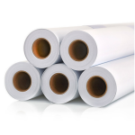POLYPRINTmedia / Monomer bílý lesklý - Bubble free, 100 mic, transp. lepidlo (1,37m)