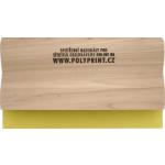 Sítotisková těrka dřevěná 28cm (70sh)