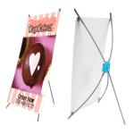 X banner TABLE 25x41cm stolní