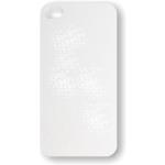 PixMaster / Kryt zadní (guma)_bílý_iPhone 4, 4S včetně třpytivého plechu pro potisk