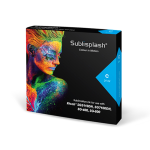 Sublisplash sublimační cartridge, Cyan, 31ml (pro A4), 3110DN, 7100 low capacity