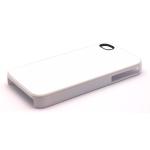 PixMaster / Kryt zadní (plast)_bílý_iPhone 4, 4S včetně plechu pro potisk