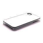 PixMaster / Kryt zadní (plast)_transparentní_iPhone 4, 4S včetně plechu pro potisk