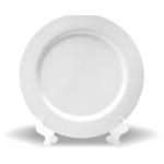 PixMaster / Tácek malý_bílý_plast POLY_pr. 15,2cm včetně stojánku