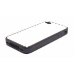 PixMaster / Kryt zadní (guma)_černý_iPhone 4, 4S včetně plechu pro potisk