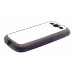 PixMaster / Kryt zadní (guma)_černý_Samsung Galaxy S3 včetně plechu pro potisk
