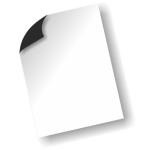 PixMaster / Magnetická fólie pro inkjet potisk_BÍLÁ_A4