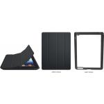PixMaster / Pouzdro/obal magnetické na iPad 2, 3_ČERNÁ včetně plechu na potisk