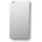 PixMaster / 3D kryt zadní (plast)_bílý_iPhone 6