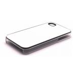 PixMaster / Kryt zadní (plast)_transparentní_iPhone 4, 4S včetně třpytivého plechu pro pot
