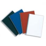 Kartonová zadní deska ANTELOPE pro vazbu dokumentů, červená, 250g, 100ks