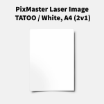 PixMaster Laser Image TATOO / White, A4 (2v1)