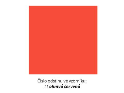 PF-05 OHNIVÁ ČERVENÁ / PixCut Flex Premium
