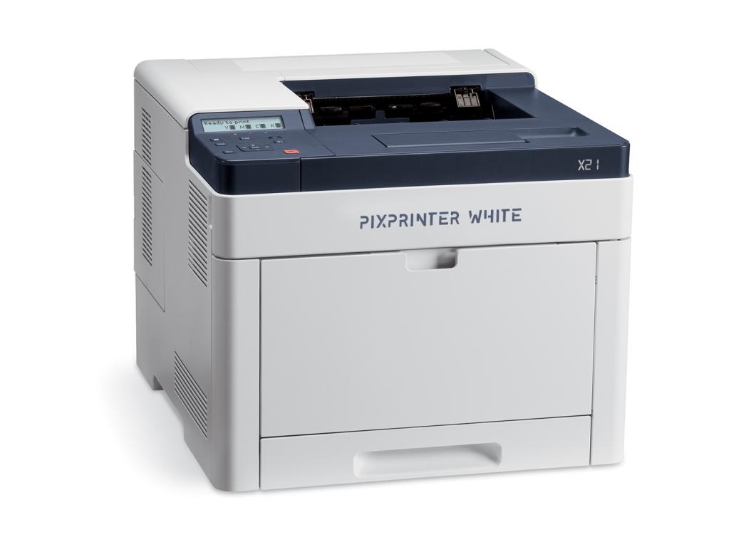 PixPrinter WHITE A4 X21 s bílým tonerem (CMYW)