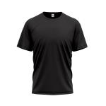 Tričko PIXY PREMIUM UNISEX, 160g, 100% bavlna / ČERNÁ