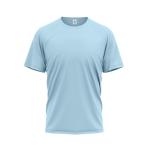 Tričko PIXY PREMIUM UNISEX, 160g, 100% bavlna / NEBESKY MODRÁ