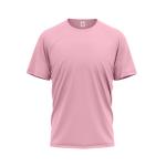 Tričko PIXY PREMIUM UNISEX, 160g, 100% bavlna / SVĚTLE RŮŽOVÁ