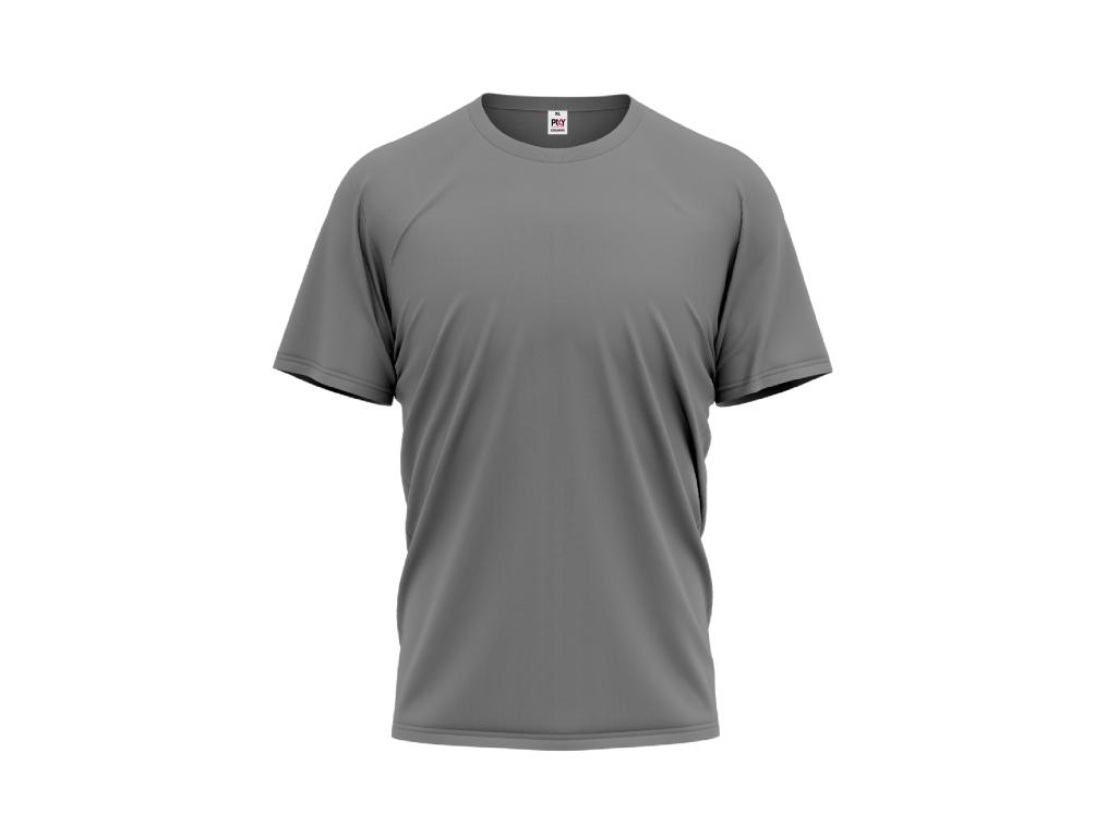 Tričko PIXY PREMIUM UNISEX, 160g, 100% bavlna / TMAVĚ ŠEDÁ