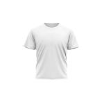 Dětské tričko KIDS, 160g, 100% bavlna / BÍLÁ
