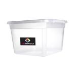 Plastový BOX s víkem pro aplikaci lepidla POWDER