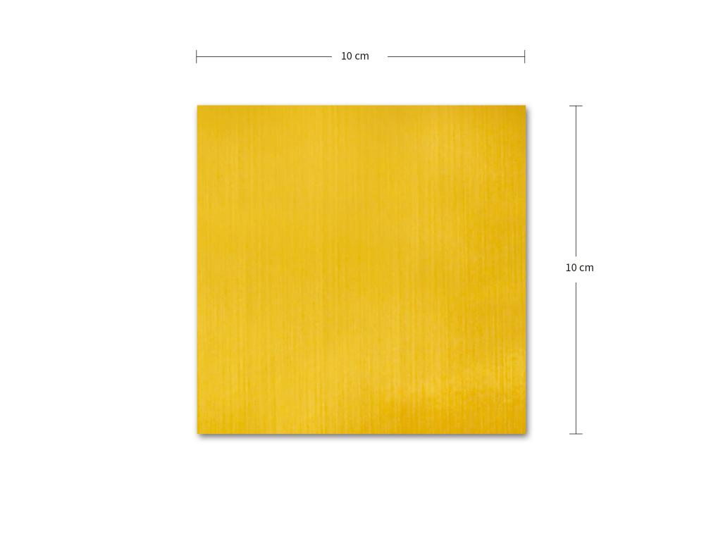 PixCut media / Polyesterové etikety 50x A4 / Broušená zlatá